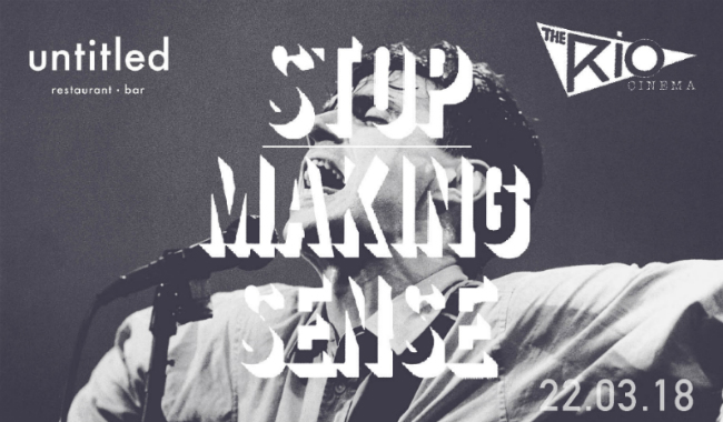 STOP MAKING SENSE UNTITLED