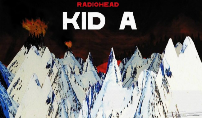 RADIOHEAD 'KID A' PITCHBLACK PLAYBACK