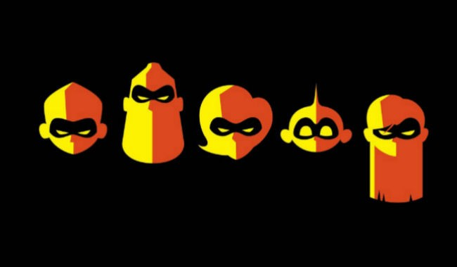 INCREDIBLES 2 P&B