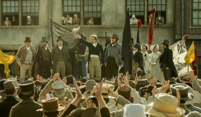 PETERLOO + Satellite Q&A with Mike Leigh
