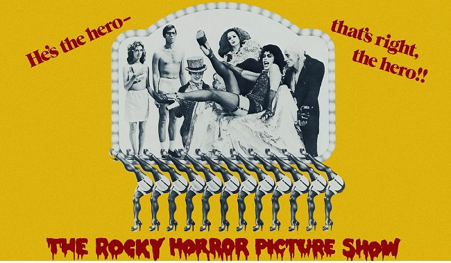 The Rocky Horror Picture Show + live performance