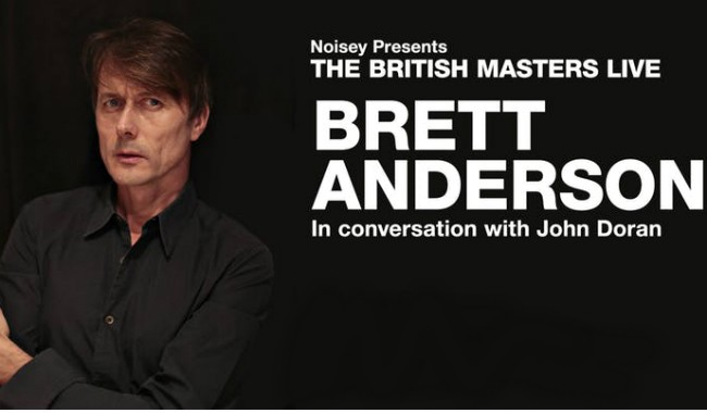 Noisey presents: The British Masters Live - Brett Anderson