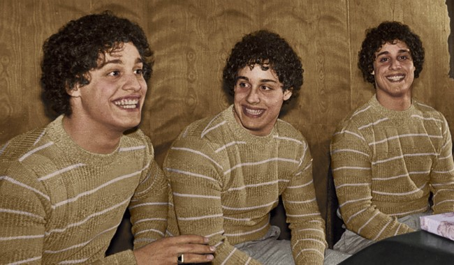 Three Identical Strangers P&B