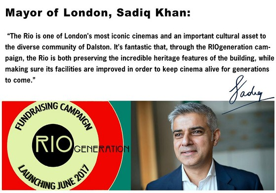 Sadiq Khan on the Rio