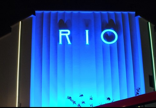 The Rio in blue