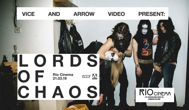 Lords of Chaos+  Intro From Thurston Moore
