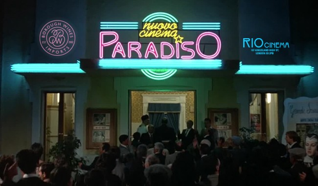 Borough Wine presents Vino Kino - Cinema Paradiso + Wine Tasting