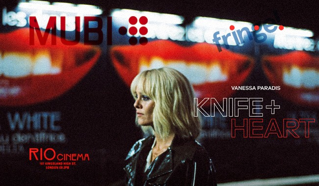 MUBI X Fringe! KNIFE+HEART Q&A Preview