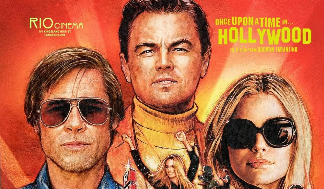 ONCE UPON A TIME IN HOLLYWOOD P&B
