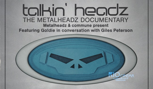 Metalheadz & Commune Present: Talkin' Headz with Goldie