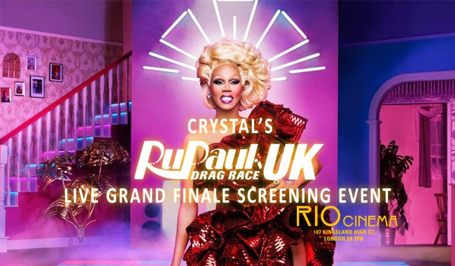 Crystal's LIVE Drag Race UK Grand Finale!