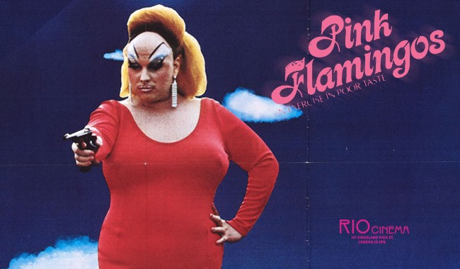PINK FLAMINGOS (UNCUT) + Q&A with MINK STOLE