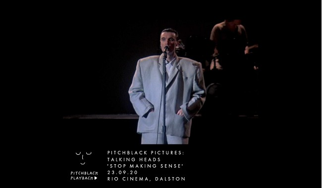 Pitchblack Pictures: Talking Heads Stop Making Sense