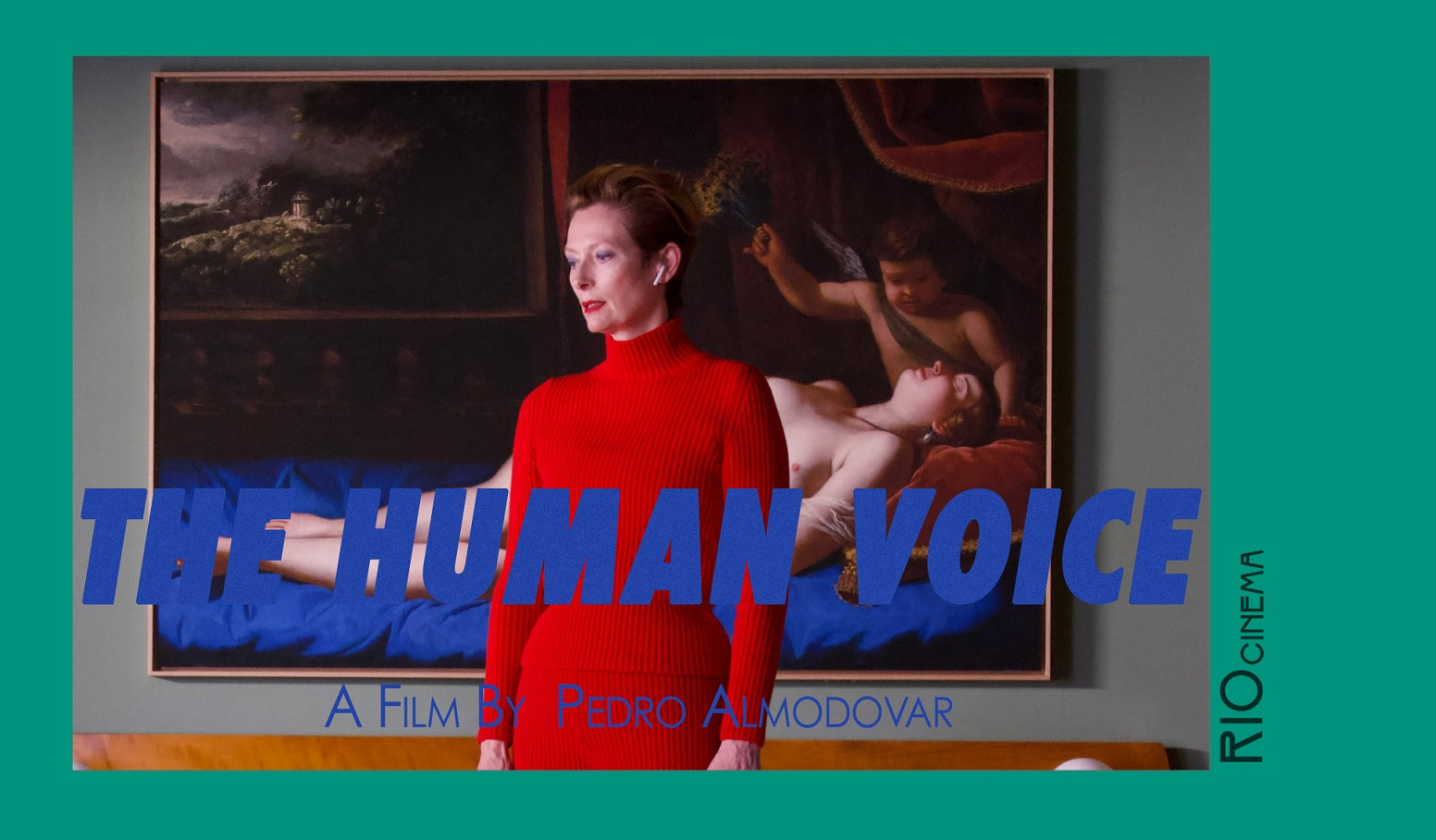 THE HUMAN VOICE + Almodovar & Swinton Q&A