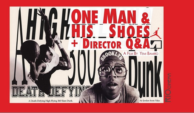 ONE MAN AND HIS SHOES + Q&A