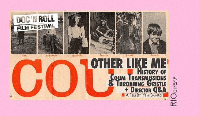 Doc'n Roll FF - OTHER, LIKE ME - COUM & THROBBING GRISTLE