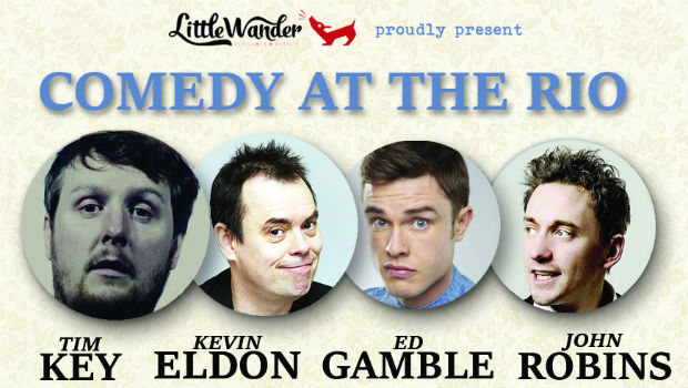 Little Wander present: Comedy at the Rio