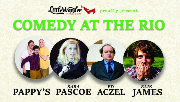 Little Wander presents Comedy at the Rio (Thur 12 Nov)