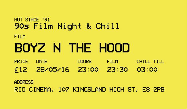 Hot Since '91 presents: BOYZ N THE HOOD