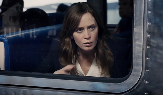 The Girl On The Train P&B