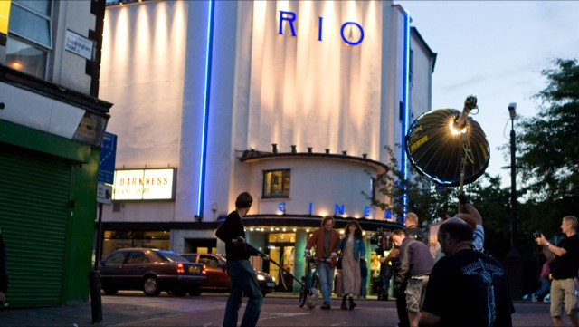 Filming at The Rio