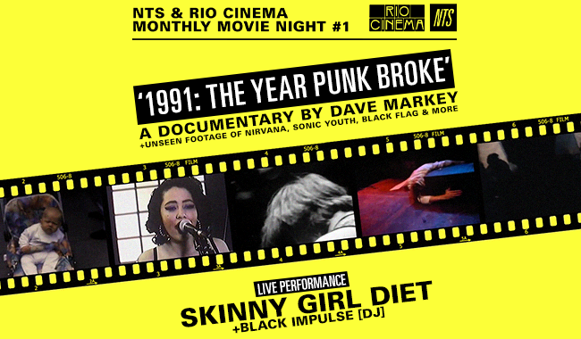 NTS Presents 1991: The Year Punk Broke