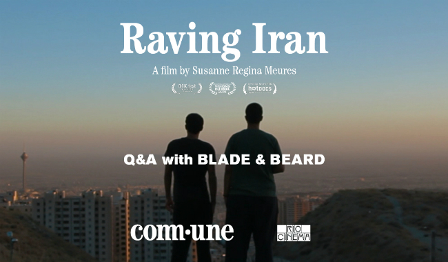 comm•une presents Raving Iran + Q&A
