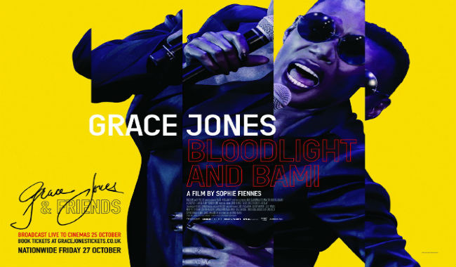 Grace Jones and Friends Live