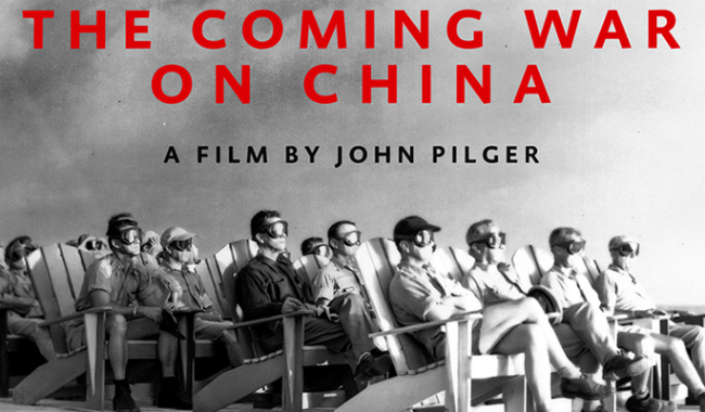 The Coming War on China + Q&A with John Pilger