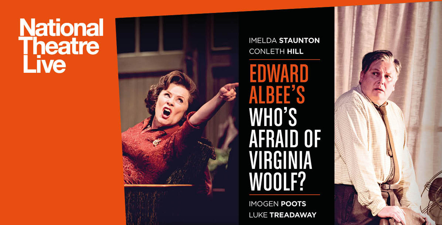 NT Live: Who's Afraid of Viginia Woolf image