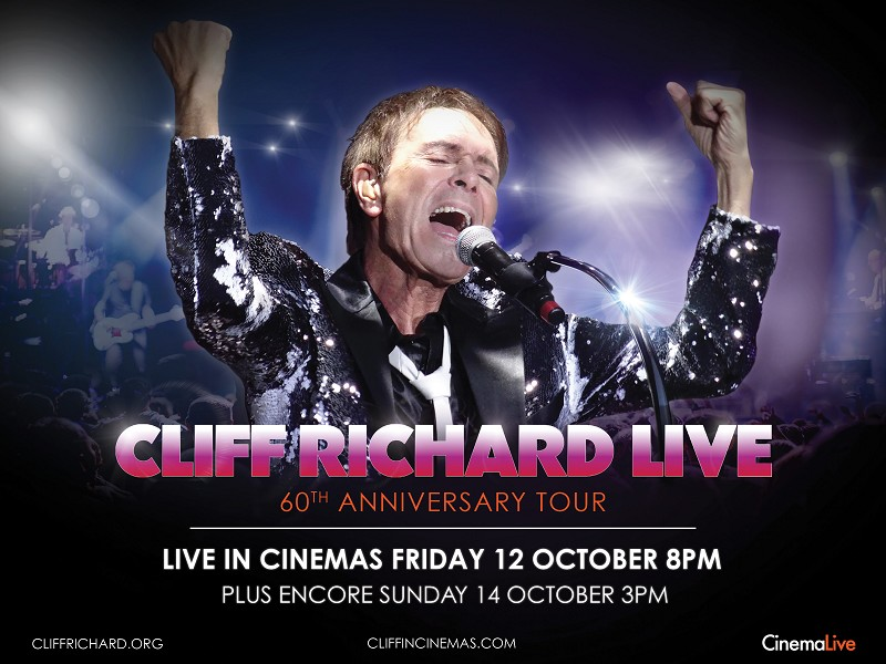 Cliff Richard live