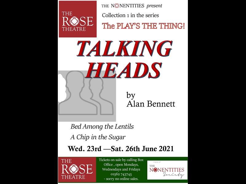 Talking Heads (June 23rd - 26th)