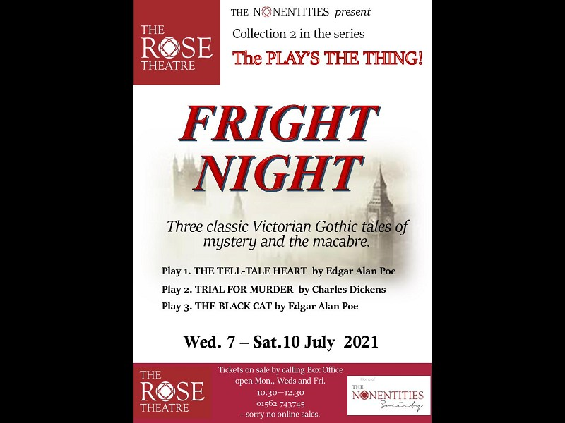 FRIGHT NIGHT (July 7th - 10th)