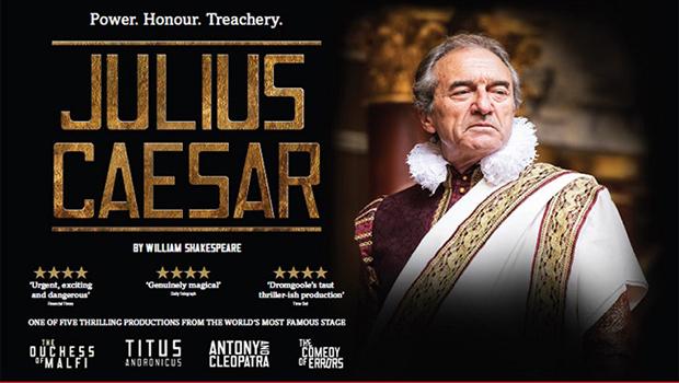 Globe on Screen : Julius Caesar