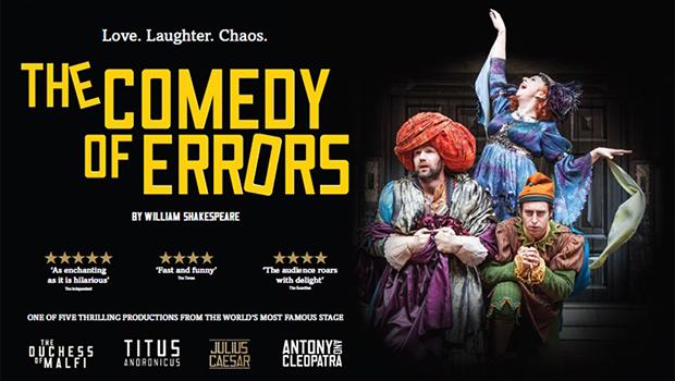 Globe on Screen : The Comedy of Errors