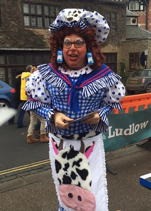 Dame Trot in Ludlow