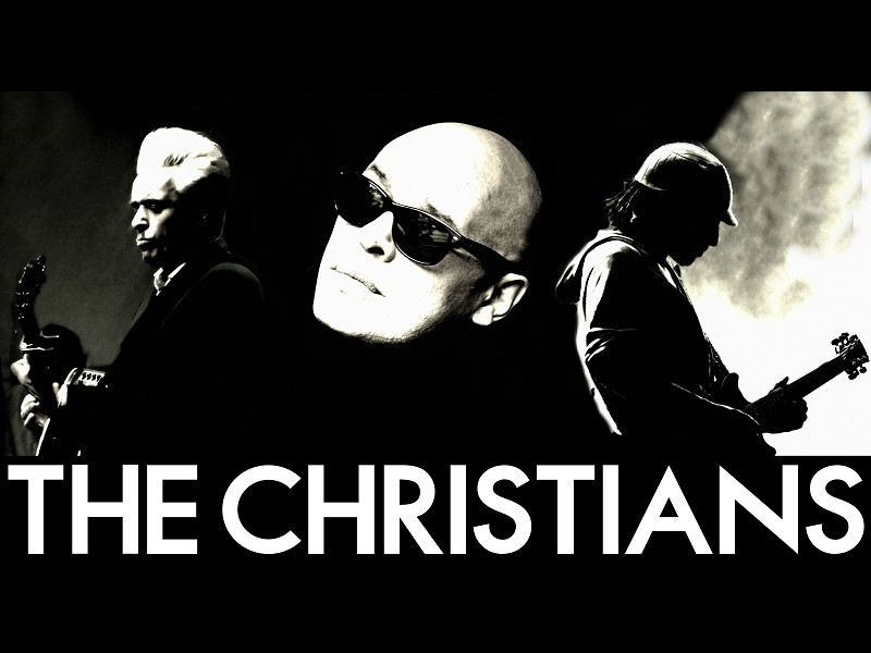 The Christians, live on stage