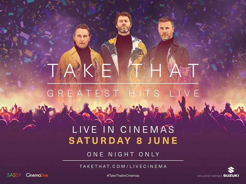 Take That - Greatest Hits in concert