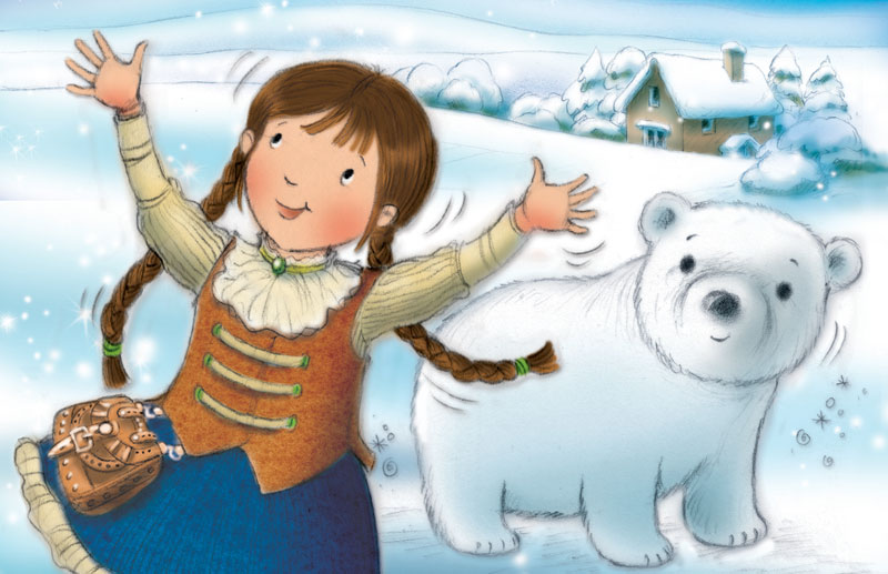 Lilly and the Snowbear