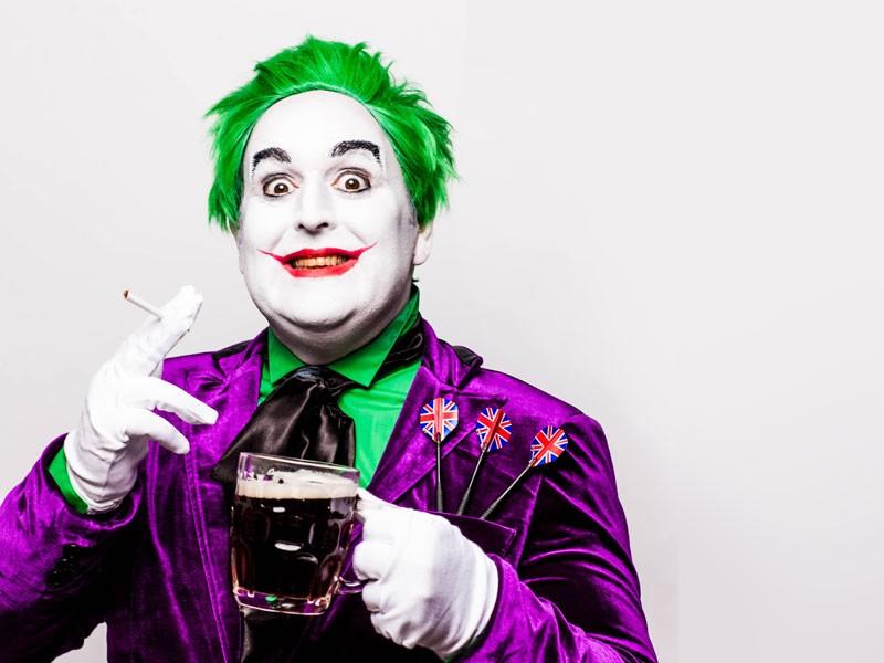 Justin Moorhouse Northern Joker