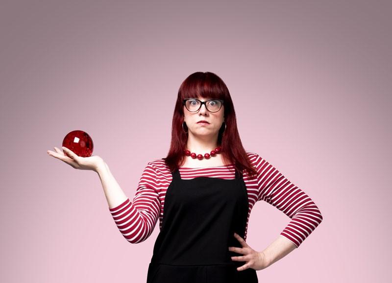 Angela Barnes:Rose-Tinted