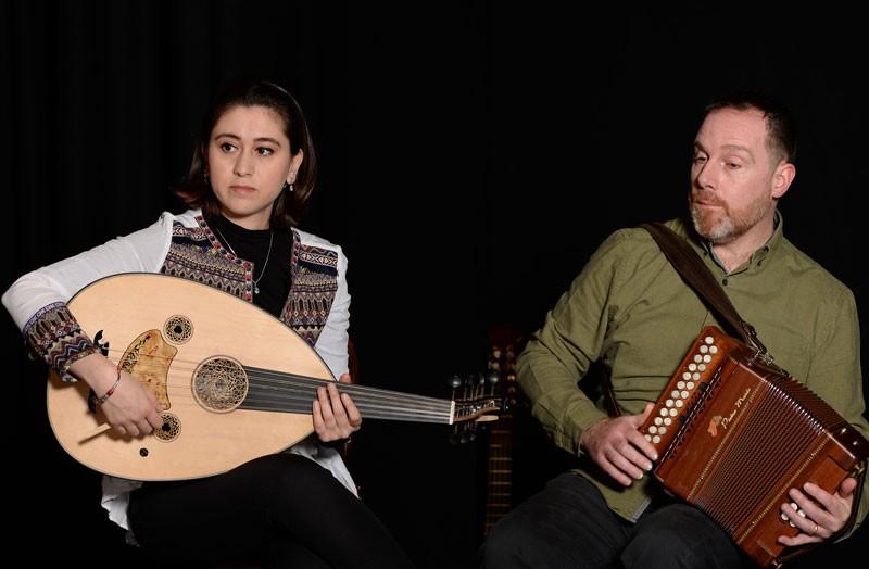 Ribhab Azar & Luke Daniels