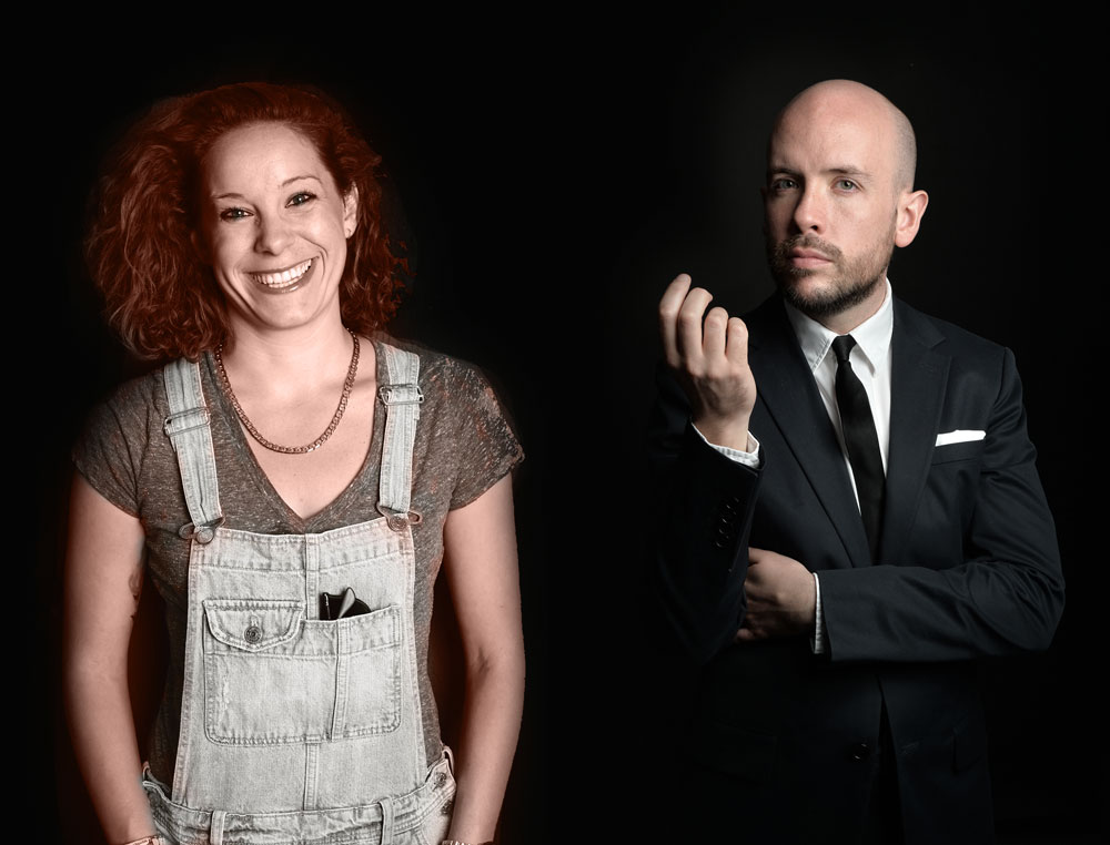 Tom Allen and Suzi Ruffell