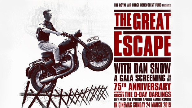 Royal Air Force Benevolent Fund presents The Great Escape with Dan Snow