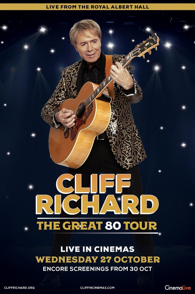 Cliff Richard : The Great 80 Tour Live