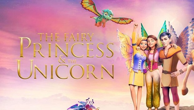fairy princess an the unicorn
