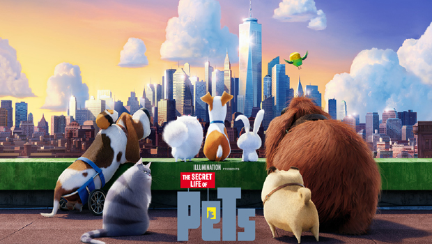 The Secret Life of Pets 2D