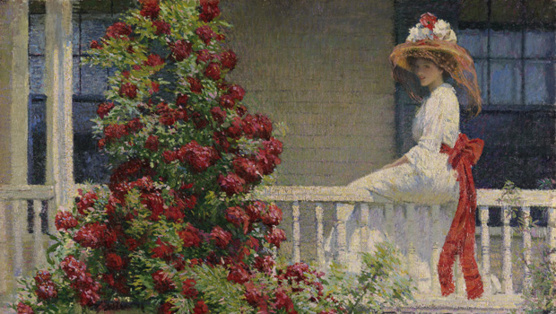 Exhibition on Screen - The Artists Garden American Impressionism
