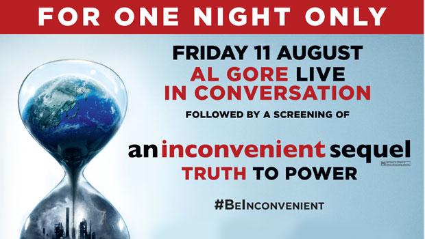 An Inconvenient Sequel-Live Event- Al Gore Live in Conversation