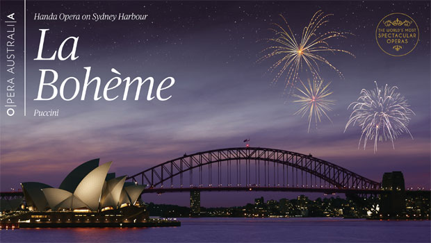 OPERA AUSTRALIA: LA BOHEME ON SYDNEY HARBOUR 2018